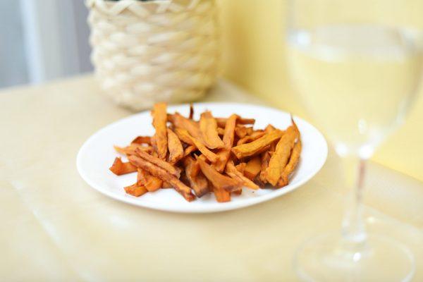 Frite de Patate douce